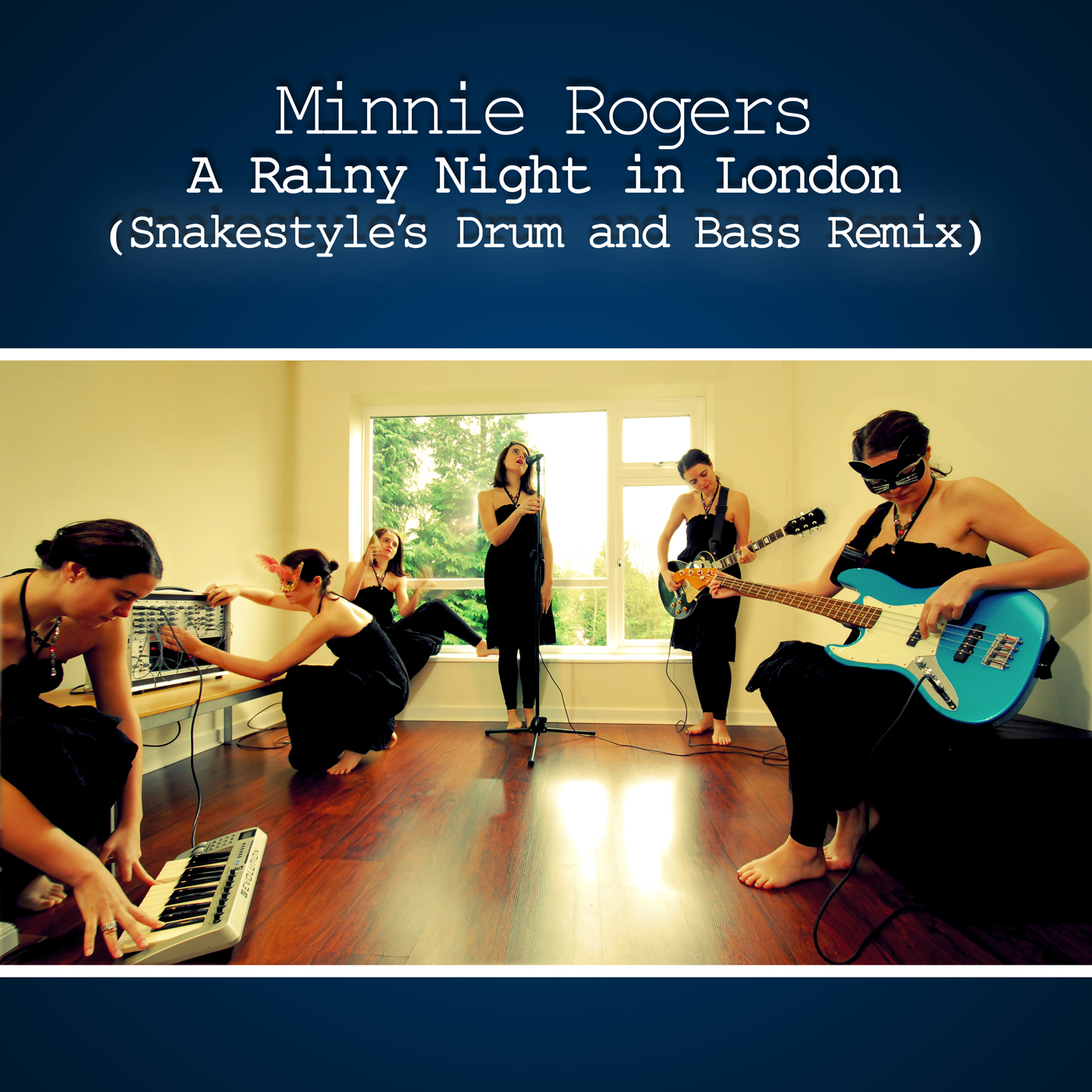 Minnie Rogers - A Rainy Night In London (Snakestyle's Drum & Bass Remix)